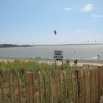 spot de la baie de pont mahé, zone de glisse kitesurf planche à voile stand-up paddle cours et location débuter